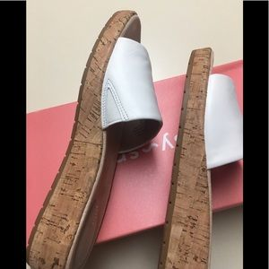 NIB EASY SPIRIT SANDALS CORK HEELS SIZE 6M.